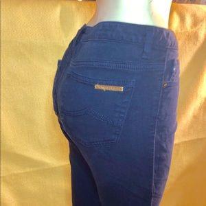 Michael Kors blue denim Cropped jeans Sz. 6